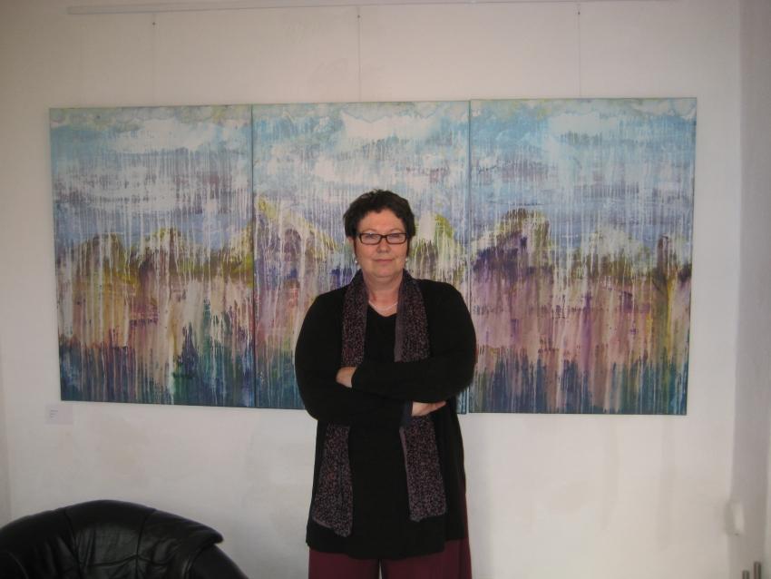 Einzelausstellung im Kunsthaus Starnberg, Sibylla Schramm