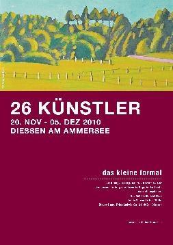 """3. Produzentenausstellung """"das kleine Format"""" 2010"""