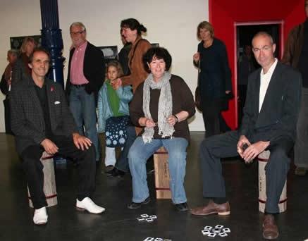 Ausstellung im Kulturforum, Blaues Haus, 2008