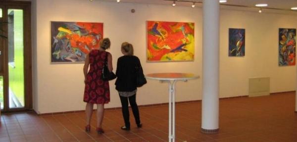 Einzelausstellung im Bildungszentrum Holzhausen, 2011