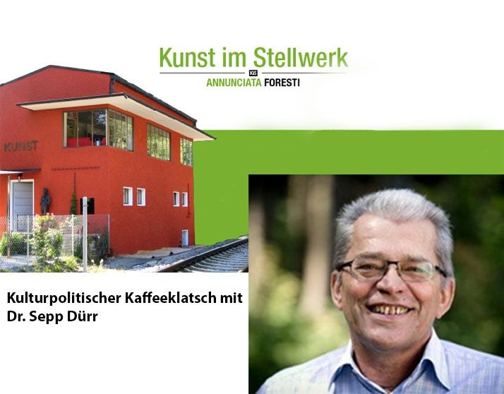 Kulturpolitischen Kaffeeklatsch mit Dr. Sepp Dürr, 2013