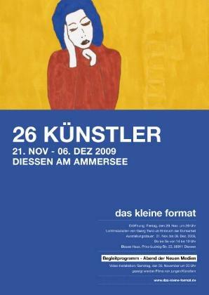 """2. Produzentenausstellung """"das kleine Format"""" 2009"""