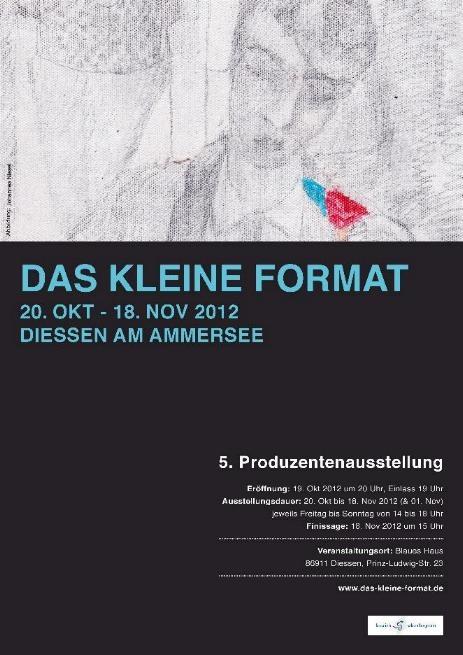 """5. Produzentenausstellung """"das kleine Format"""", 2012"""