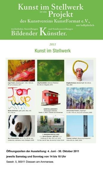 Künstler im Stellwerk 2011