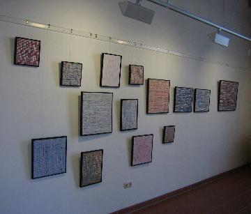 Einzelausstellung Atelier Rose, Schondorf, 2005