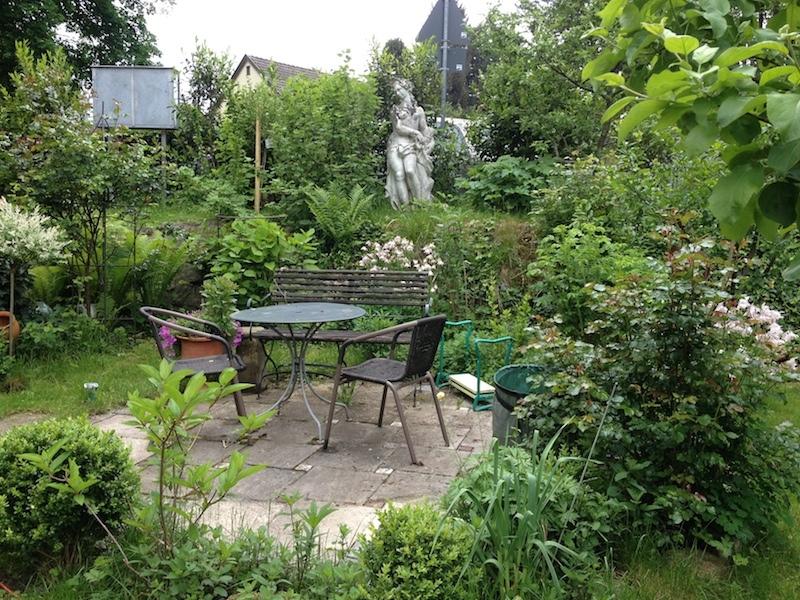 Der Garten der Künstlerin