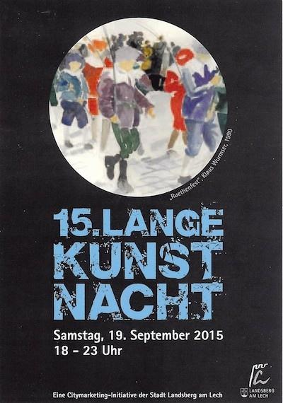 Lange Kunstnacht Landsberg
