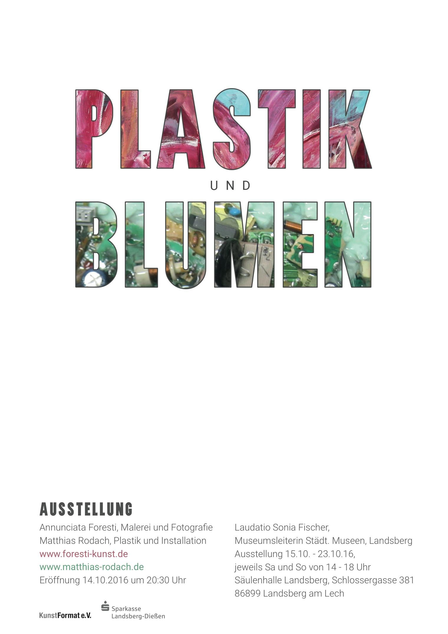 PLASTIK und BLUMEN