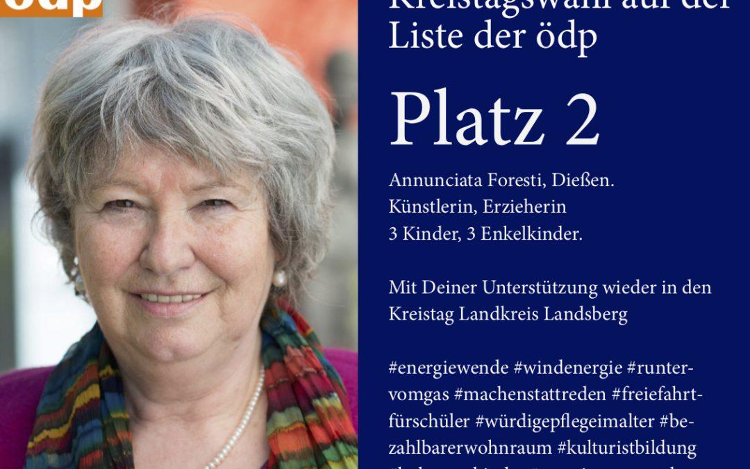 Kreisrätin Annunciata Foresti wechselt ihre politische Farbe – von grün nach orange